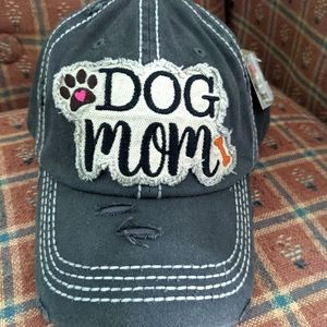 NWT Dog Mom Baseball Cap
